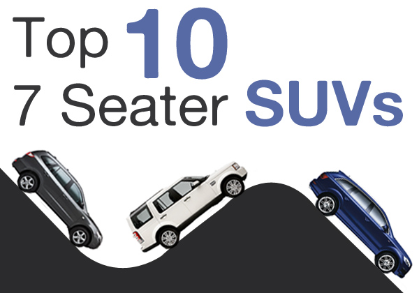Top Ten 7 seater SUVs