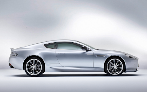 Aston-martin-db-9-silver-side-on