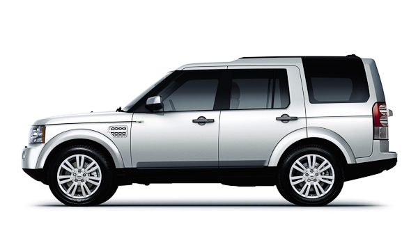 Facelift land rover discovery side