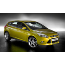 New ford focus candy yellow