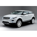 Range rover evoque coupe white
