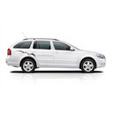 Skoda octavia estate white