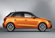Audi-a1-sportback-orange-side-on