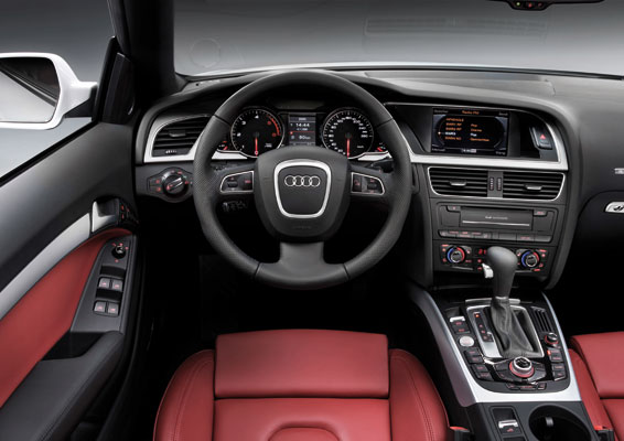new audi a5 cabriolet interior